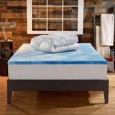 amazon com sleep innovations 4 inch dual layer mattress topper