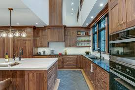 what color countertops with walnut cabinets the of walnut kitchen cabinets by the kitchen classics