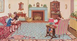 How To Turn A Carpet Into A Rug History Of Linoleum Rugs Old House Restoration Products