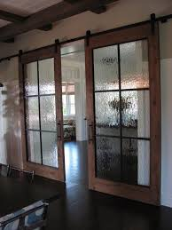 sliding kitchen doors interior sliding barn doors with glass track doors were built of blackened