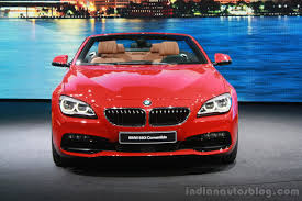 red bmw 2016 2016 bmw 6 series convertible facelift at the 2015 detroit auto
