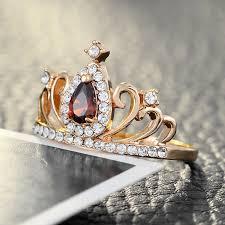crown rings jewelry images Trendy princess queen crown rings for women feminatzi jpg