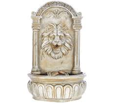 Outdoor Lion Statue by Bernini Rechargeable Indoor Outdoor Lion Head Wall Fountain Page