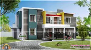 modern two storey house design with floor plan with elevation
