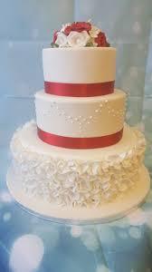 3 tier wedding cake 3 tier wedding cake ruffles ravens bakery of essex ltd