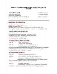 A Resume Format For A Job by Examples Of Resumes 81 Excellent Resume Outline Example Template