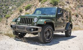 jeep wrangler 2016 jeep wrangler unlimited test review car and driver