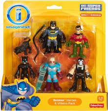 fisher price dc super friends imaginext batman heroes villains
