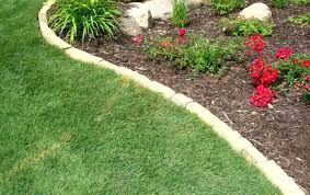 Garden Lawn Edging Ideas Landscape Brick Border Top Surprisingly Awesome Garden Bed Edging