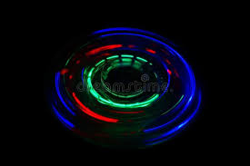 fidget spinner light up blue fidget spinner light up stock image image of spinner 94347983