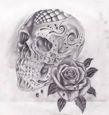 38 best skull tattoos images on pinterest drawing drawings and