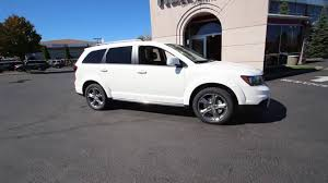 Dodge Journey Platinum - 2017 dodge journey crossroad vice white ht513752 everett