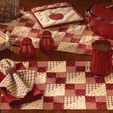 country kitchen table apple jack placemat