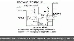 Peavey Classic 30 Cabinet Mod Footswitch Classic 30 Youtube