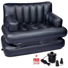air sofa bed black
