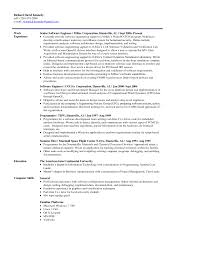 Objective In Resume For Experienced Software Engineer Free by Resume Examples For Entry Level Resume Example And Free Resume Maker