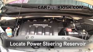 2007 honda odyssey power steering check power steering level honda odyssey 2005 2010 2007 honda