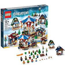 Christmas Village Sets Amazon Com Lego Creator Expert 10235 Winter Village Market