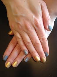 the beauty of life my recent mani chanel gold fingers and opi i
