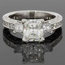 tacori crescent engagement ring tacori radiant certified classic crescent engagement