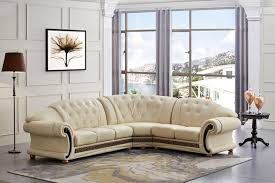 Leather Sofa Italian Versace Leather Sofa Beige Leather Sofa Shop Factory Direct