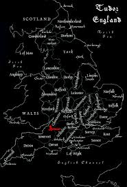 Cheshire England Map by Tudor England Map