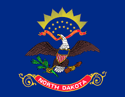 Hatis Flag File Flag Of North Dakota Svg Wikimedia Commons