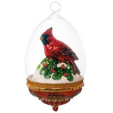 cardinal dome blown glass ornament specialty ornaments hallmark