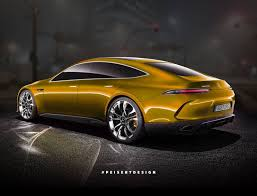 mercedes amg gt concept turned into a somewhat more production