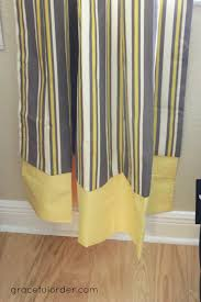making curtains longer without sewing graceful order