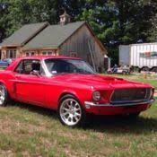 68 mustang restomod 1968 ford mustang restomod coupe 302 auto for sale photos