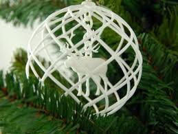 rudolph 3d printed in a decoration by imaterialise