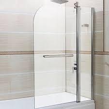 Shower Door Pivot Uenjoy Shower Door Pivot Radius Framed 1 4 Clear Glass 55 X39