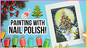 art challenge painting with nail polish youtube