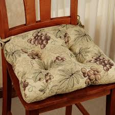 Dining Room Chair Cushions Kitchen Chair Cushions With Ties Homesfeed