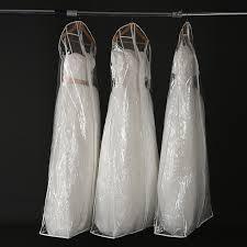 wedding dress bags 180 cm transparent pvc wedding dress bags dust cover storage