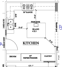 kitchen floor plans with islands island kitchen floor plans best 10 kitchen floor plans ideas on