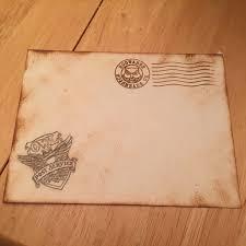 pottermas hogwarts letters inspired envelope tutorial