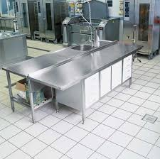 commercial kitchen tile