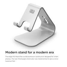 Iphone 5 Desk Stand by Amazon Com Elago M2 Stand Silver Premium Aluminum Angled