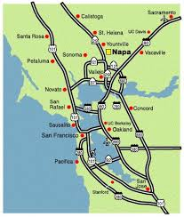 california map napa 45 best vacation wine country images on napa sonoma