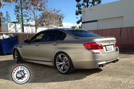 matte grey bmw bmw m5 wrapped in 3m matte gray aluminum car wrap wrap bullys