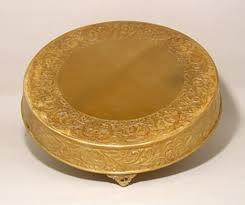 cake plateau cake plateau antique gold 21 egpres