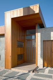 to make an entrance this creative timber design is one of the