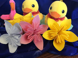 how to make an origami water lily youtube