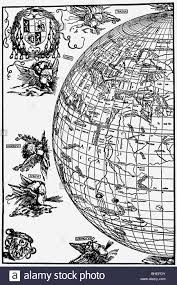 Map Of The Western Hemisphere Cartography Globes Western Hemisphere With Illustration Of The