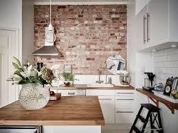 cuisine avec brique 20 dessins de cuisine avec des murs de briques exposés