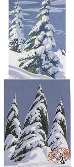 eyvind earle christmas cards studios eyvind earle christmas cards