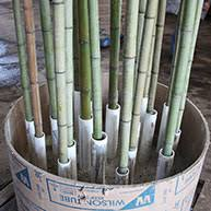 Decorative Bamboo Sticks Bamboo On Natural Canes Mall Silks
