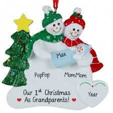 grandparents ornaments gifts personalized